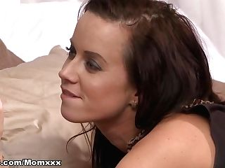 Incredible Pornographic Star In Fabulous Brown-haired, Mummy Fuckfest Movie