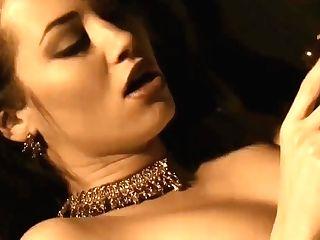 Erotic Arab Dark Haired Stunner Nude