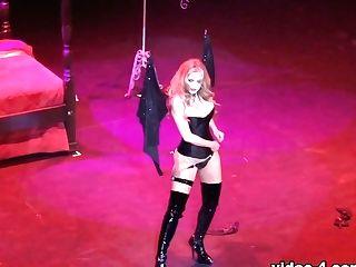 Dancing At Edi Expo Showcase - Angelasommers