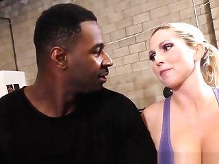 Cuckolding Cougar Gets Big Tits Spermed