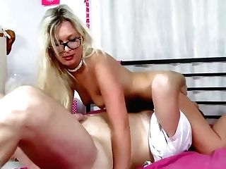 Hot, French Blonde With Glasses Got Her Daily Dose Of Fuck And Some Money, In The End