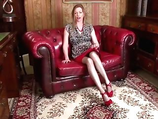 Hot Mom In Pantyhose Anal Invasion