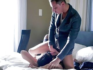 Big-chested Step Mom Reaches Orgasm With The Youthfull Dick Hammering Her Right