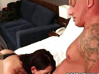 Cuck Hubby Observes Katie Creampied - Lukehardyxxx