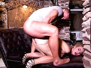 Amazing Blonde Woman, Nathaly Cherie Is Cheating On Her Hubby With Dorian Del Isla, Just For Joy