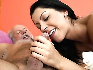 Matures Finds Herself Gargling Mans Sturdy Meat Stick