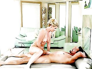 Pallid But Adorably Shaped Masseuse India Summer Is Poked By Her Oiled Customer