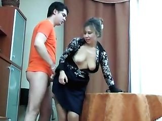 Russian Matures Shenythia Caught Boy Masturbating