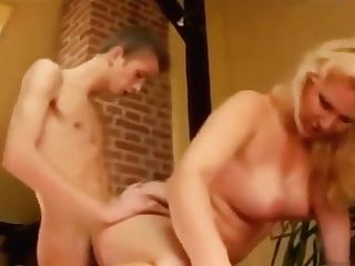 Blonde Mom Fucks Son-in-law