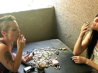Dirty Smoker Whores Compare Ciggies