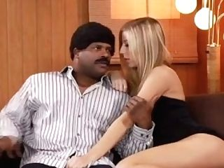Big Black Cock Fucking The Blonde Student