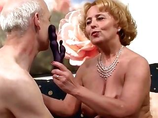 Grand-ma And Grand-pa At Pornography Casting Because Need Cash German
