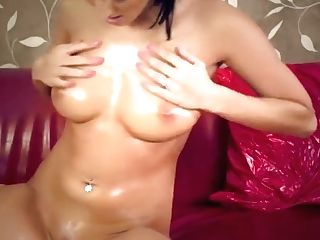 Oiled Up Cougar Squirts
