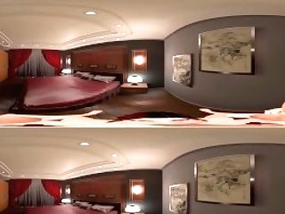 Motel Bedroom With Tiffany