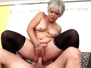 Golden Bitch - Horny Older Cowgirls Compilation Part 14