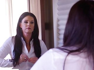 Supah Alluring India Summer Provides Lengthy Big Black Cock With A Good Bj