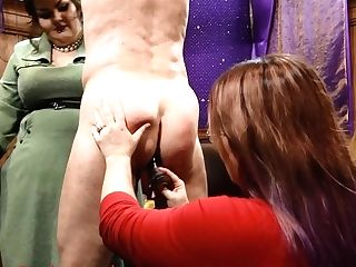 Masochist Meets Masochist - Cock And Ball Torture Female Domination Clip