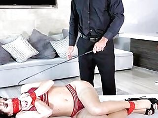 Nude Nymph Fucked In A Gorgeous Missionary