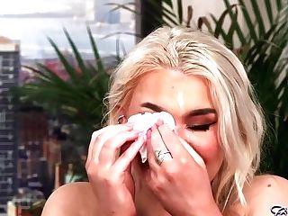 Gina Varney Hot Cougar Surprise Veil Facial Cumshot