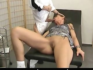 Gynecology Pervert Fucks His Sexy Patient