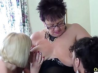 Oldnanny Two Brit Matures Lesbo Playing