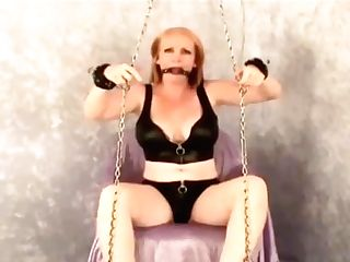 I Am Roped And Ball-gagged And Totally Vulnerable