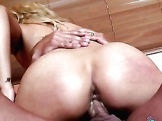 Wearing Explicit Sundress Sexy Blondie Wins A Chance To Rail Fat Prick