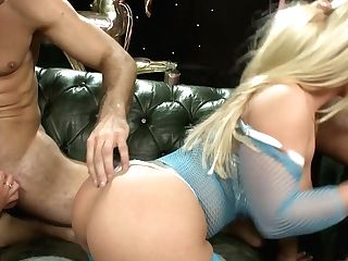 Stunning Big Tittied Hooker Emma Butt Takes Part In Crazy Group Romp Flick
