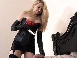 Mistress Eleise De Lacy & Bottom In Wrapping - Kink