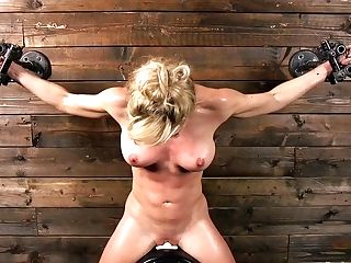 Pro Pornography Actress Cherie Deville Gets Her Coochie Disciplined