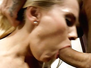 Rough Buttfucking With Concupiscent Bitch In Fishnets Lili A