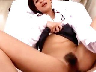 Japanese Av Model Is A Hot Mummy And A Wild Nurse At Work