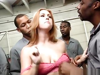 Sandy-haired Gets Mass Ejaculation Facials