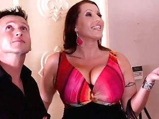 Curvy Honeys Laura Orsolya & Angel Wicky Orgasm In Threesome Hard-core Scene