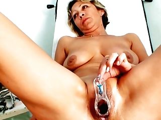 Insatiable Czech Granny Wouldnt Mind Having Some Sexy Joy With One Of Her Dearest Doctors