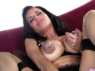 Veronica Avluv Absorption Cup Tit Playthings In Stockings - Clubveronicaavluv