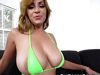 Pretty And Bootylicious Cougar Takes Care Of A Mad Dick