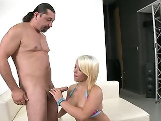 Beautiful Blonde Amanda Black With Stiff Round Tits Is Insatiable
